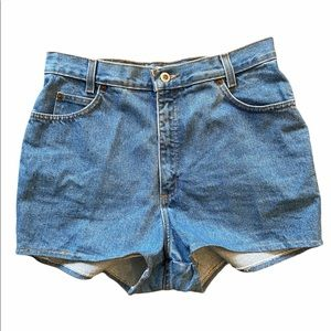 MOM STYLE High Waisted Jeans Shorts Size 13 GUC